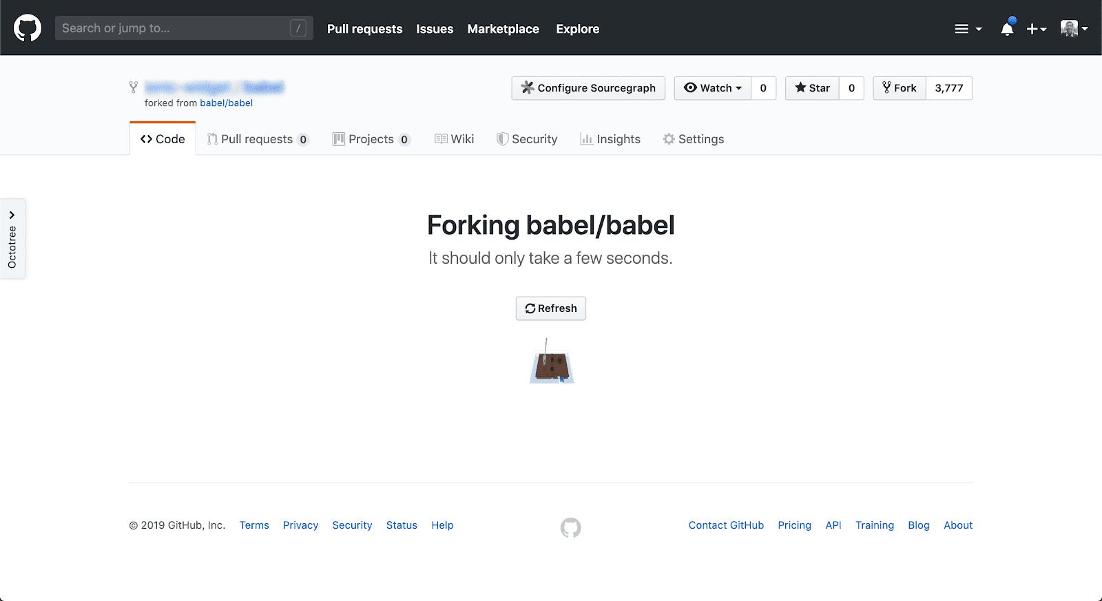 Створення ФОРКу Babel